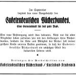 Adam Kraft Verlag Sudetendeutscher Bücherbund