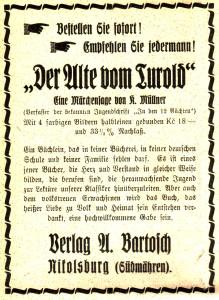 Bartosch Anzeige 1