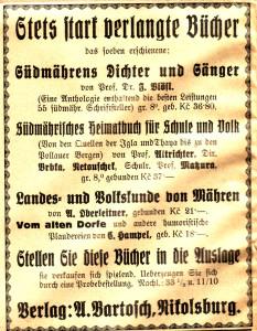 Bartosch Anzeige 2
