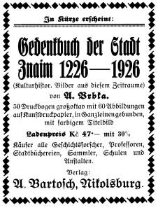 Bartosch Anzeige 3