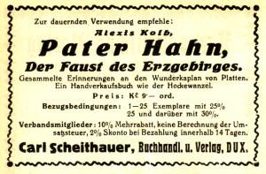 Carl Scheithauer Anzeige