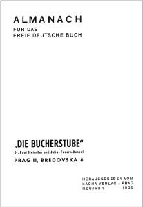 Bücherstube Almanach 1935 Rahmen