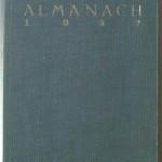 Bücherstube Umschlag Alt Prager Almanach 1927