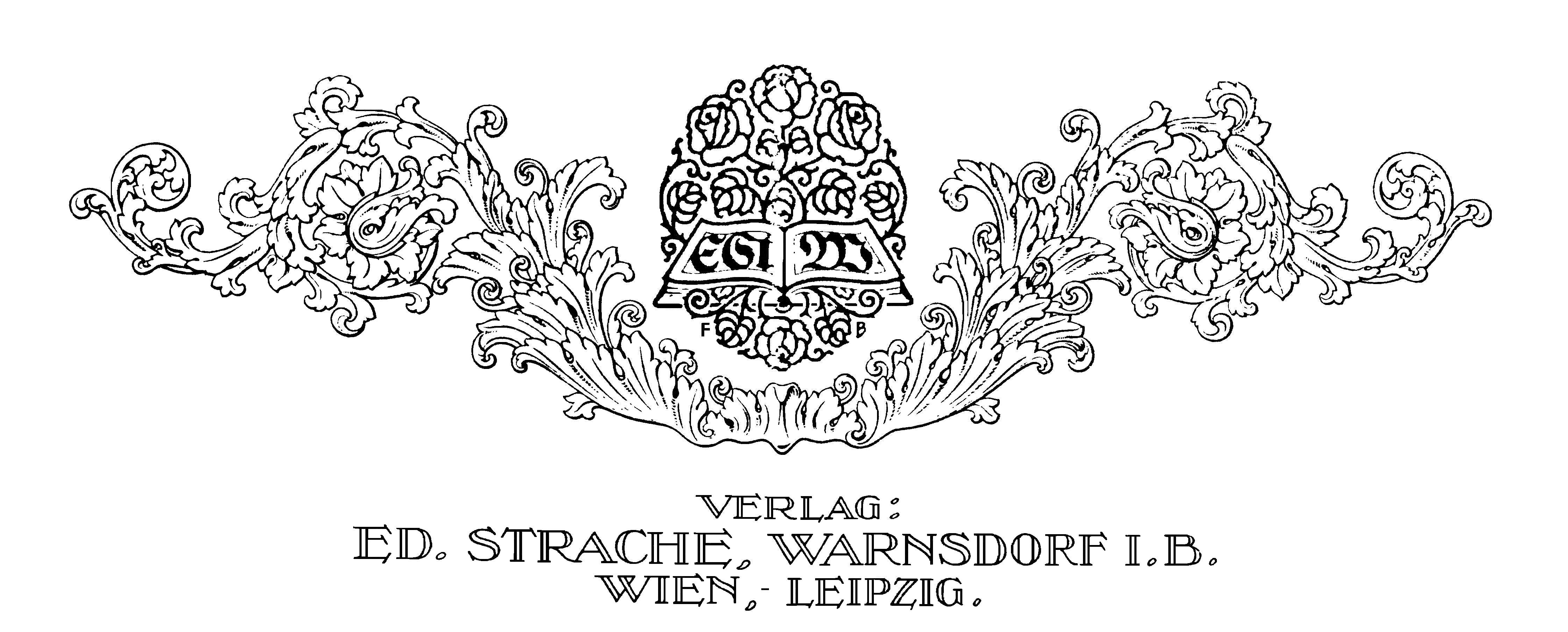 Ed. Strache Briefkopf