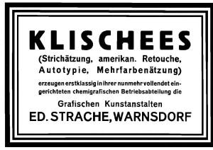Ed. Strache Klischee Anzeige