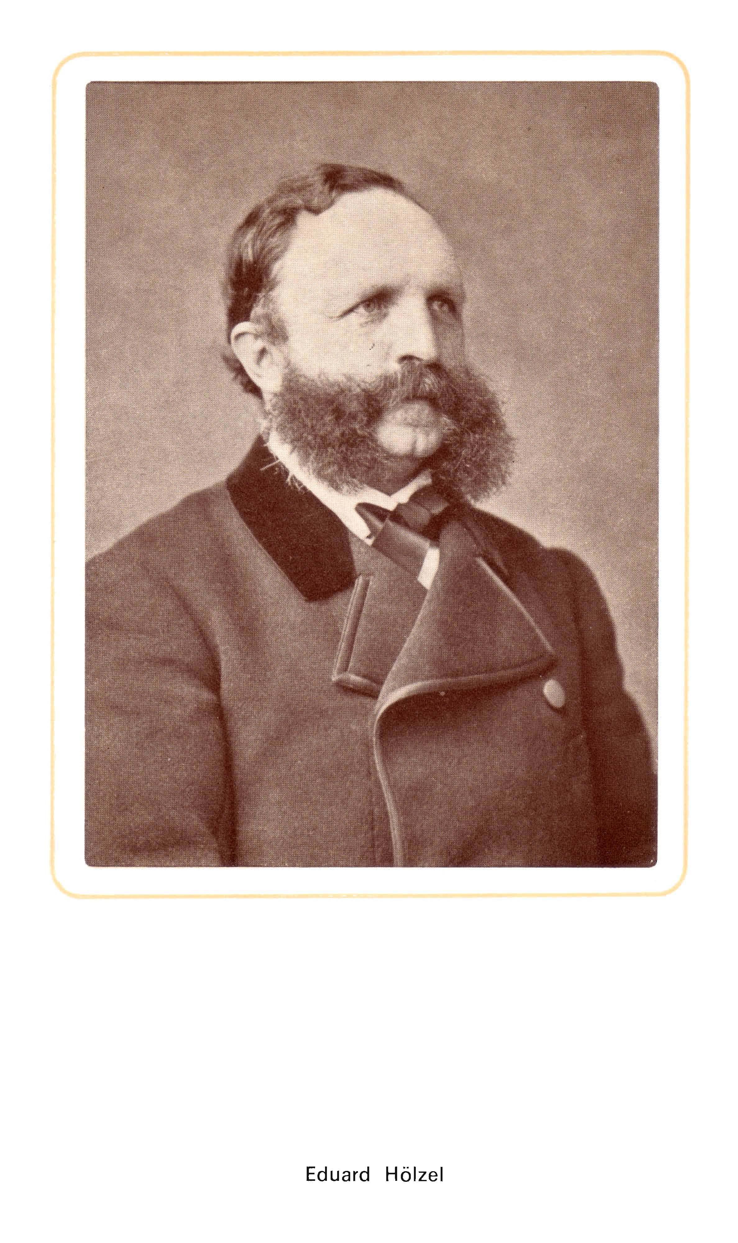 Eduard Hölzel Porträt