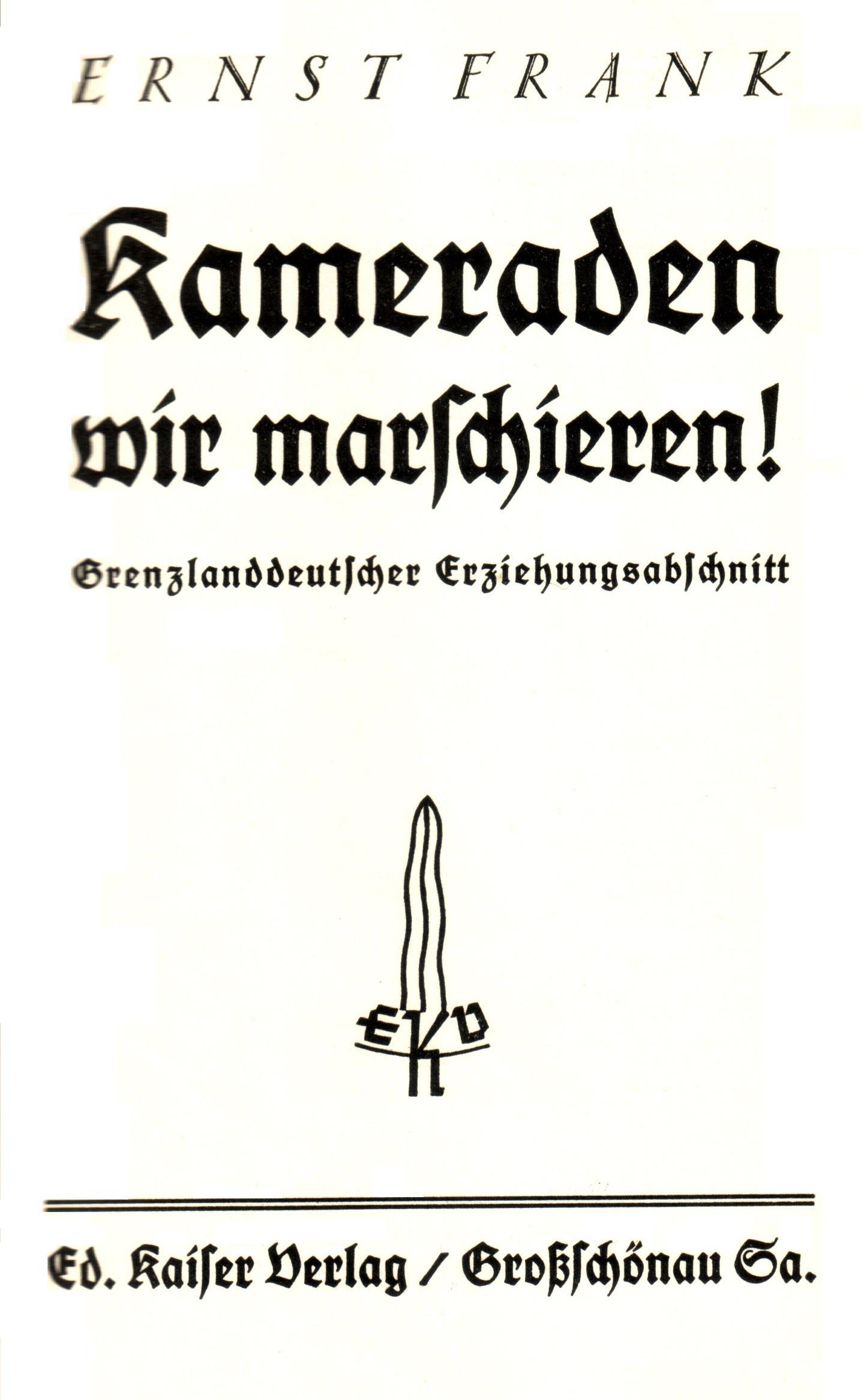 Eduard Kaiser Verlag Anzeige