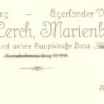 Egerländer Verlag Briefkopf