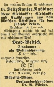Börsenblatt, Nr. 5, 7. Januar 1926, S. 180.