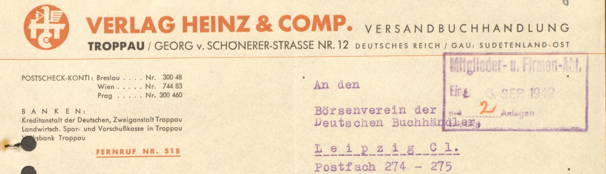 Heinz und Comp Briefkopf 2