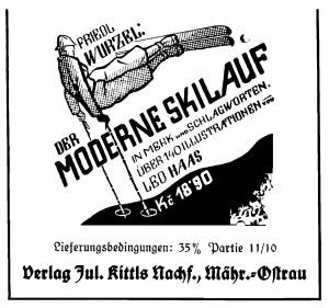 Jul. Kittls Nachfolger Anzeige