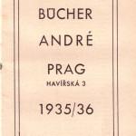 K. Andrésche Buchhandlung Anzeige