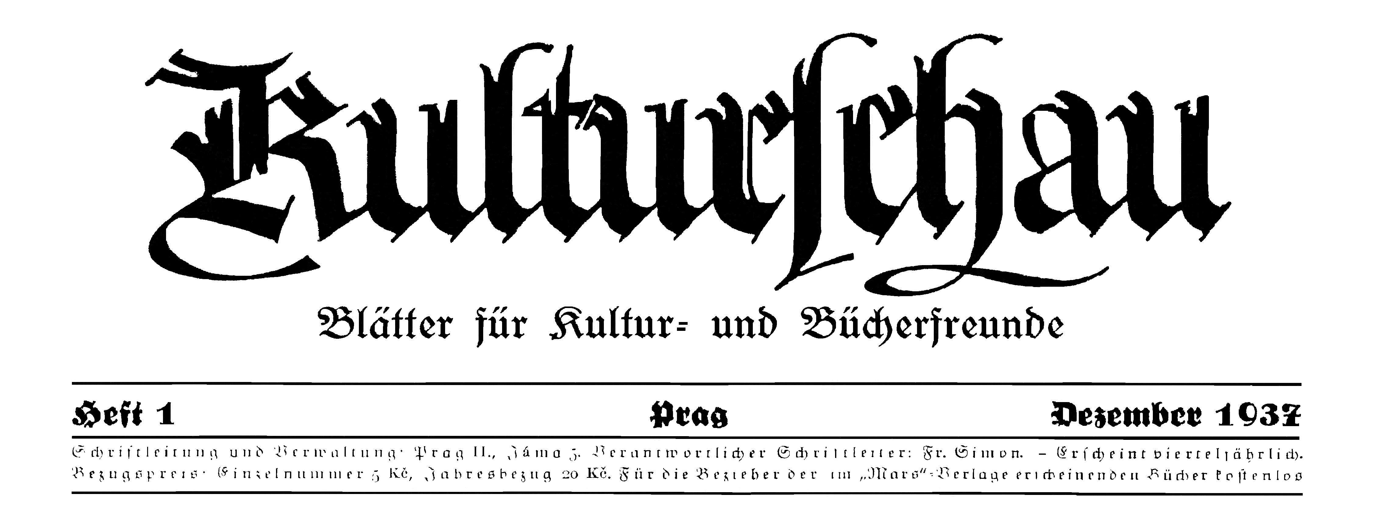 Mars Verlag Kulturschau