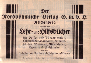 Nordböhmer Verlag Anzeige