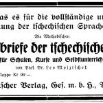 Nordböhmischer Verlag Anzeige 1927