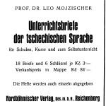 Nordböhmischer Verlag Anzeige Unterrichtsbriefe