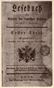 Schulverlag Lesebuch 1775