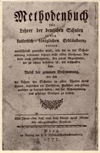 Schulverlag Methodenbuch deutsch 1777