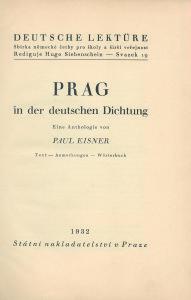 Titelblatt Prag