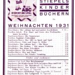 Stiepel Anzeige WLS Weihnachten 1931