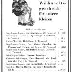 Stiepel Kinderbuch Anzeige WLS 1928